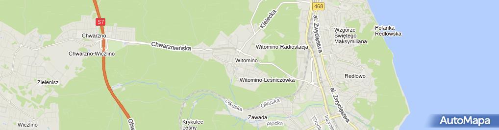 Zdjęcie satelitarne Jerzy Sztela - Działalność Gospodarcza
