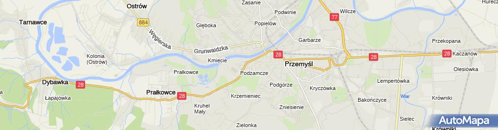 Zdjęcie satelitarne JMK Studio mgr Inż.Tomasz Kulawik