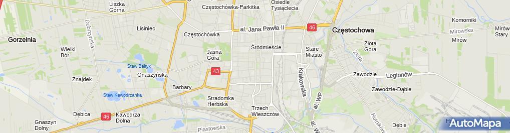 Zdjęcie satelitarne Jolanta Czerwczak Firma Handlowo-Usługowa