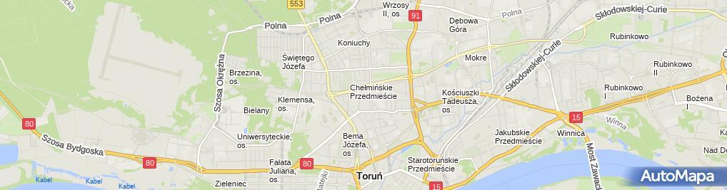 Zdjęcie satelitarne Jolanta Kostuń - Działalność Gospodarcza
