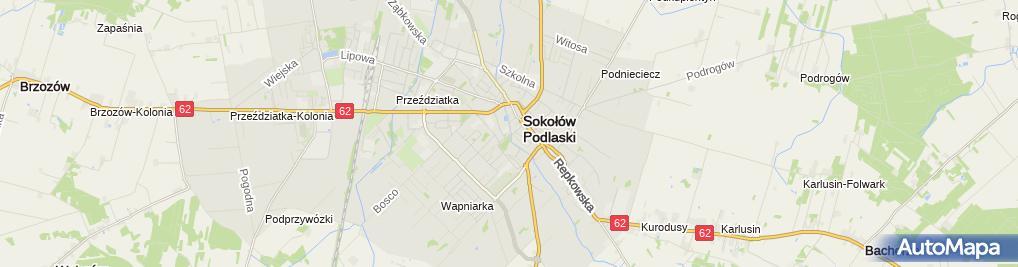 Zdjęcie satelitarne Jolanta Maksjan - Działalność Gospodarcza