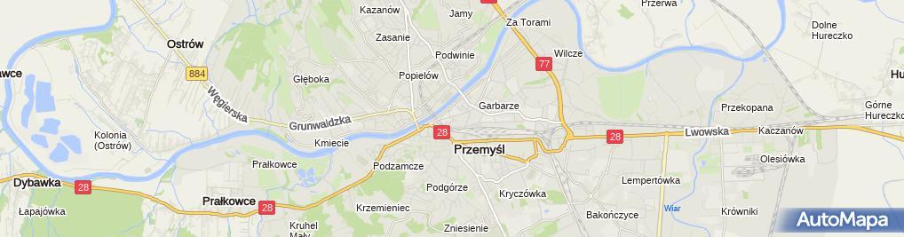 Zdjęcie satelitarne Józef Hajduk Biuro Usług Turystycznych
