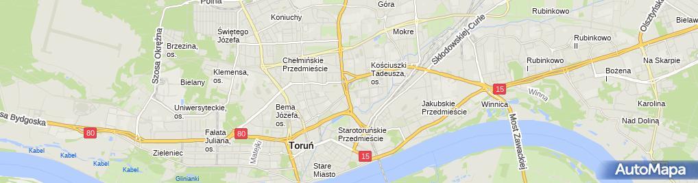 Zdjęcie satelitarne Józef Machciński Pup Kac
