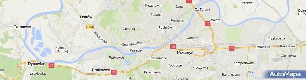 Zdjęcie satelitarne Józef Rybak Pracownia Złotnicza Skup Sprzedaż Komis