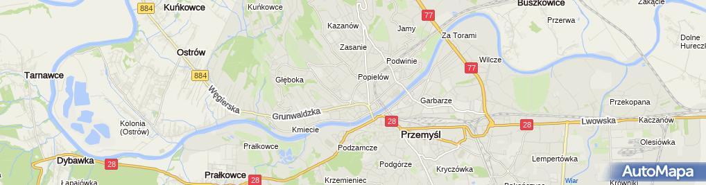 Zdjęcie satelitarne Józefa Buksa Firma Usługowo-Handlowa Gracja