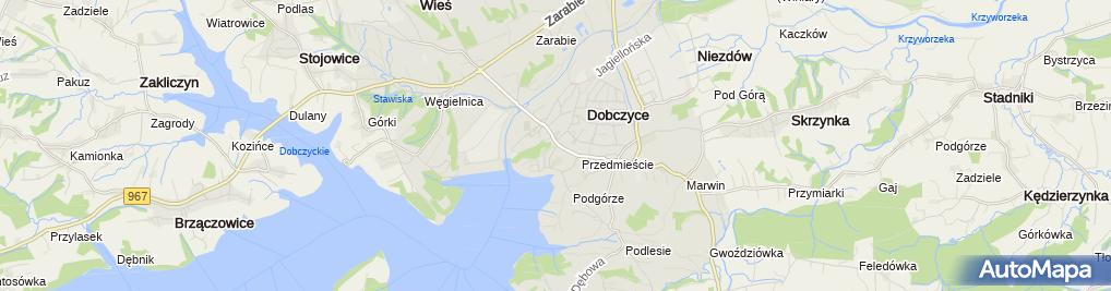 Zdjęcie satelitarne Józefa Dudzik Wytwórnia Lodów