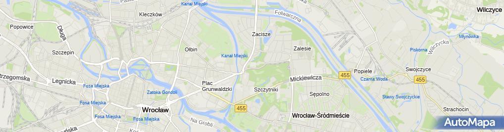 Zdjęcie satelitarne Julita Skrętkowicz