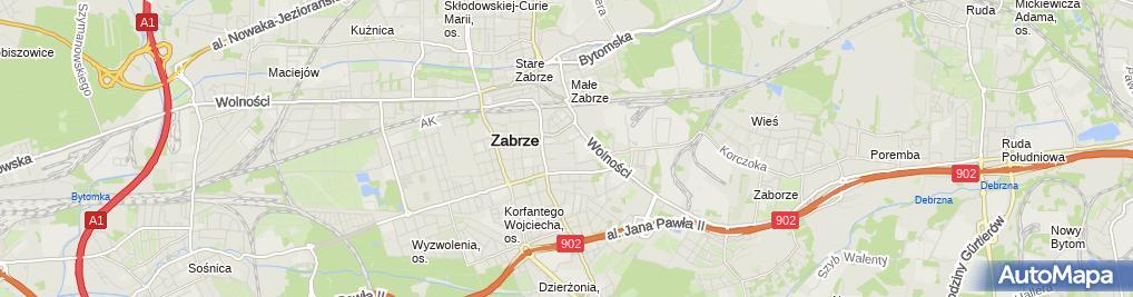 Zdjęcie satelitarne Juter Firma Handlowo Usługowa