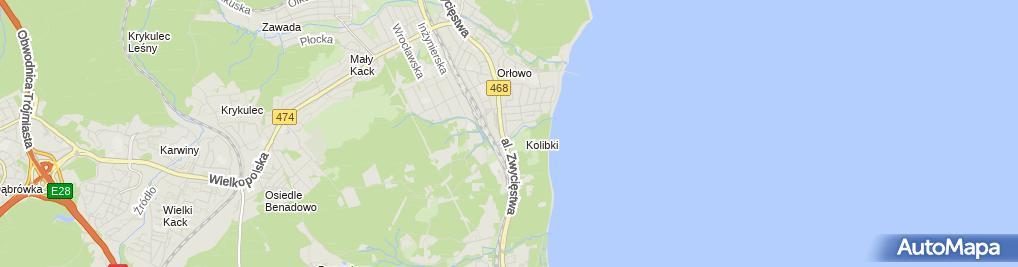 Zdjęcie satelitarne Kadry i Płace