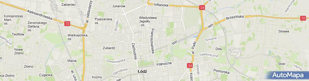 Zdjęcie satelitarne Kamil Jankiewicz Zarządzanie Nieruchomościami