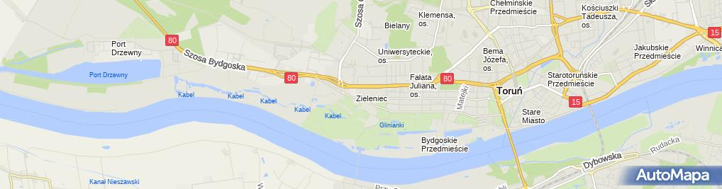Zdjęcie satelitarne Kamiński Igor