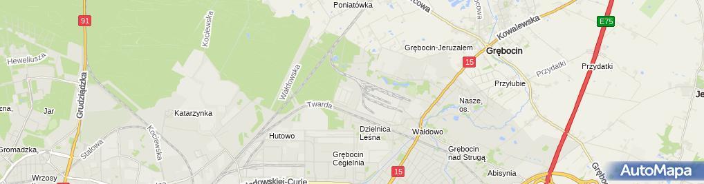 Zdjęcie satelitarne KAMPROF Kamil Włodkowski