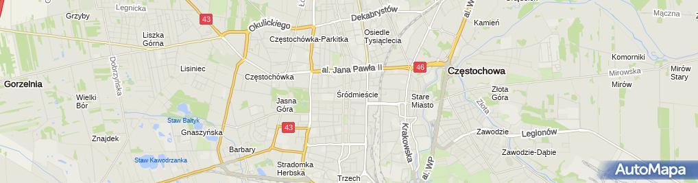 Zdjęcie satelitarne Kancelaria Adwokacka Adwokat Beata Cupiał-Kowalska