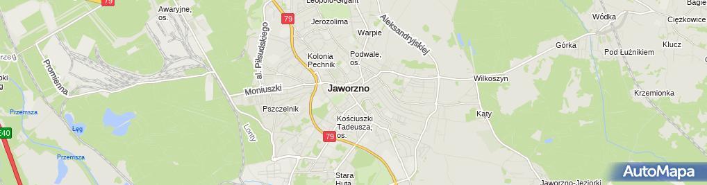 Zdjęcie satelitarne Kancelaria Adwokacka Barbara Baraniewicz Józefiak