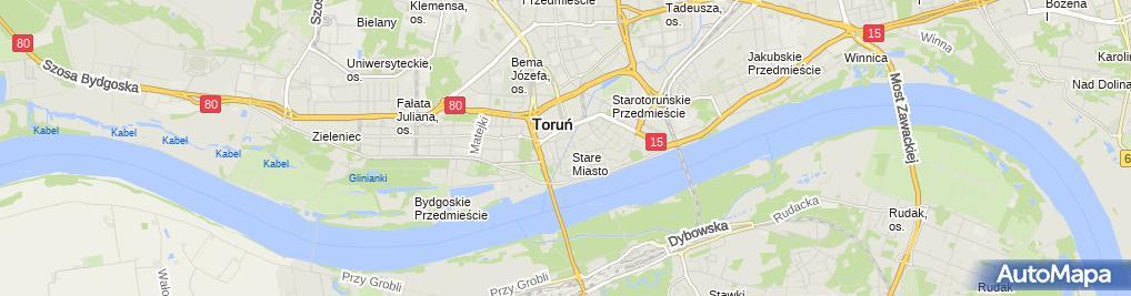 Zdjęcie satelitarne Kancelaria Adwokacka Ewa Piróg Wolska