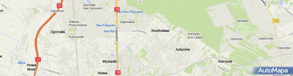 Zdjęcie satelitarne Kancelaria Adwokacka Justyna Wilczyńska Baraniak