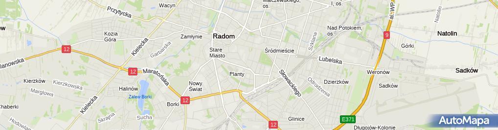 Zdjęcie satelitarne Kancelaria Adwokacka Krzysztof Michałkiewicz