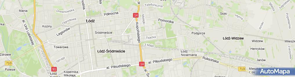 Zdjęcie satelitarne Kancelaria Adwokacka Łukasz Pajor