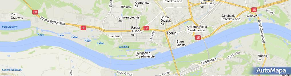 Zdjęcie satelitarne Kancelaria Adwokacko Radcowska Cogito Elżbieta Górska Grzegorz G