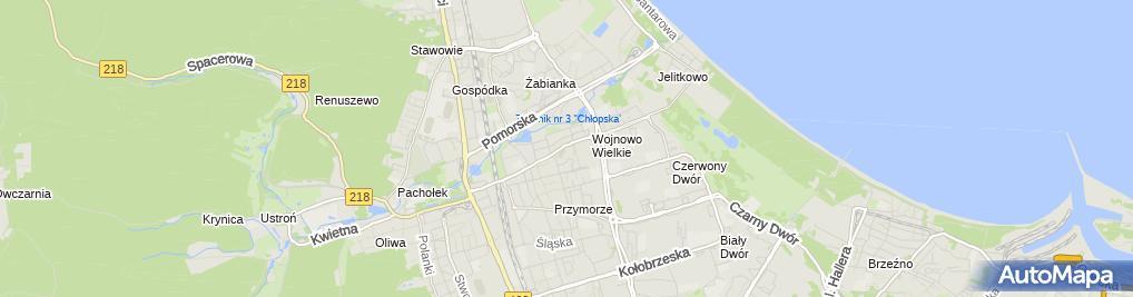 Zdjęcie satelitarne Kancelaria Adwokacko Radcowska