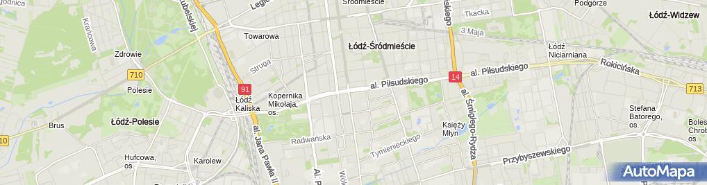 Zdjęcie satelitarne Kancelaria J G