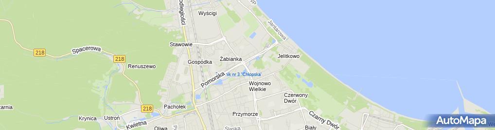 Zdjęcie satelitarne Kancelaria Notarialna Beata Świątkowska