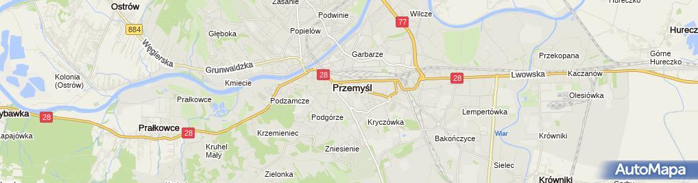 Zdjęcie satelitarne Kancelaria Notarialna Jerzy Obler Bogumił Gazda