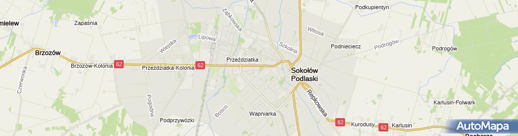 Zdjęcie satelitarne Kancelaria Notarialna Łukasz Pawelec