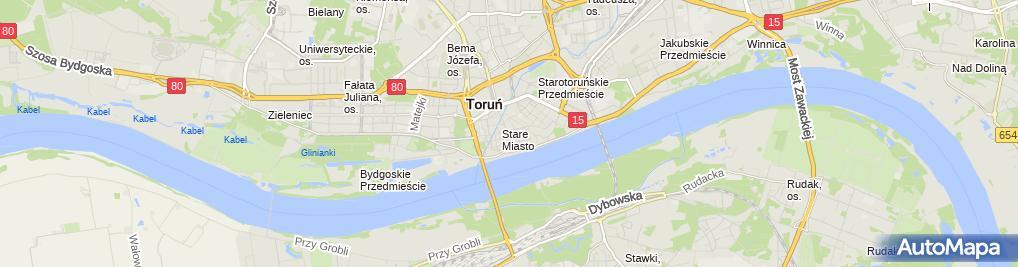 Zdjęcie satelitarne Kancelaria Notarialna-Zbigniew Malesza