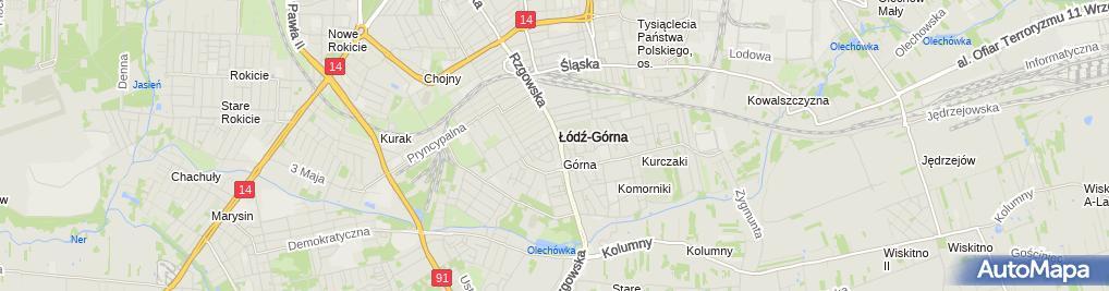 Zdjęcie satelitarne Kancelaria Notus