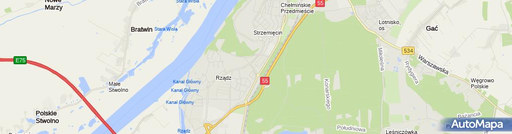 Zdjęcie satelitarne Kancelaria Podatkowa Z & L Matusz -Brzezińska Zofia
