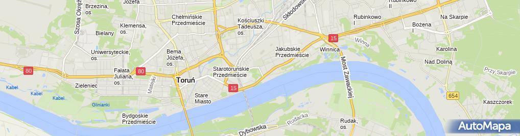 Zdjęcie satelitarne Kancelaria Prawna Patryk Chodkowski