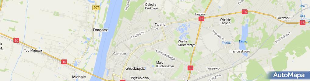 Zdjęcie satelitarne Kancelaria Prawna Radca Prawny Piotr Klempert