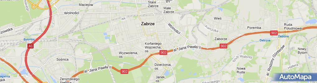 Zdjęcie satelitarne Kancelaria Prawna Radcy Prawnego Beata Machcińska Kuś