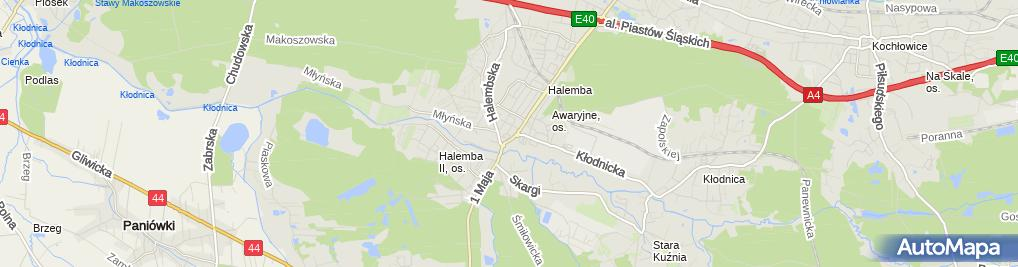 Zdjęcie satelitarne Kancelaria Prawno-Rachunkowa ATEMA s.c.