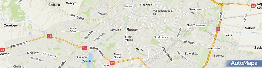Zdjęcie satelitarne Kancelaria Radców Prawnych Kalita Karpeta Karolak