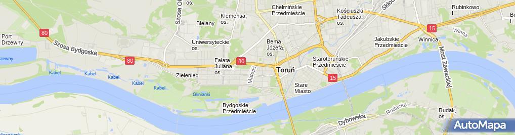 Zdjęcie satelitarne Kancelaria Radców Prawnych Lesław Pepliński&Rafał Brończyk