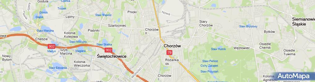 Zdjęcie satelitarne Kancelaria Radcowsko Adwokacka GCG Grabowscy i Cnota