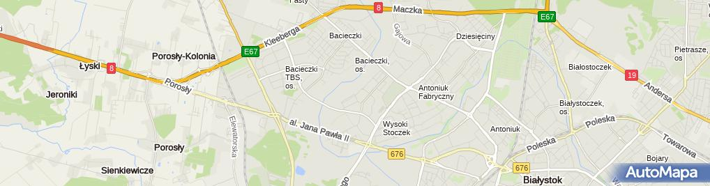 Zdjęcie satelitarne Kancelaria Radcy Prawnego Anna Oponowicz