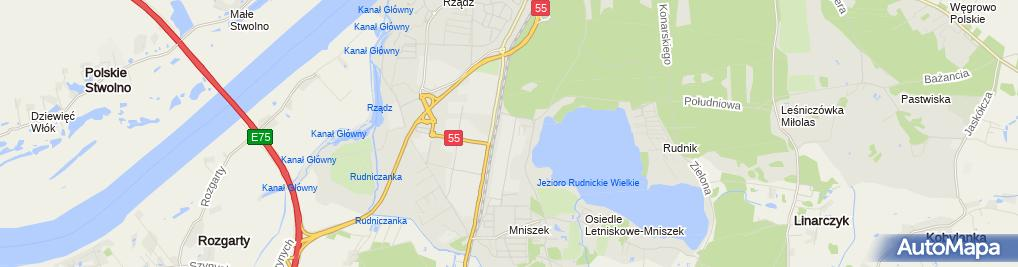 Zdjęcie satelitarne Kancelaria Radcy Prawnego Doradca