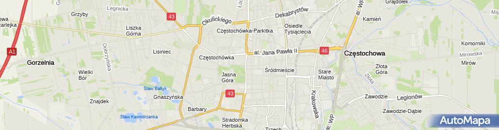 Zdjęcie satelitarne Kancelaria Radcy Prawnego Grzegorza Kowalczyka