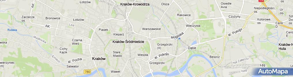 Zdjęcie satelitarne Kancelaria Radcy Prawnego Kamila Kęska