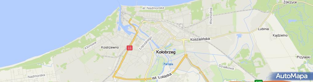 Zdjęcie satelitarne Kancelaria Radcy Prawnego Komnata Maciej Jan Połowniak Komnacki