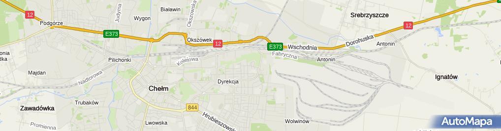 Zdjęcie satelitarne Kancelaria Radcy Prawnego Żyszkowski Zenon