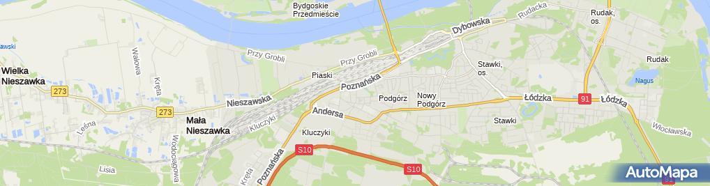Zdjęcie satelitarne Kancelaria Tax