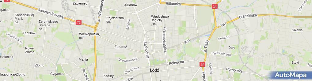 Zdjęcie satelitarne Kantor Wymiany Walut S Caban M Wiśniewski