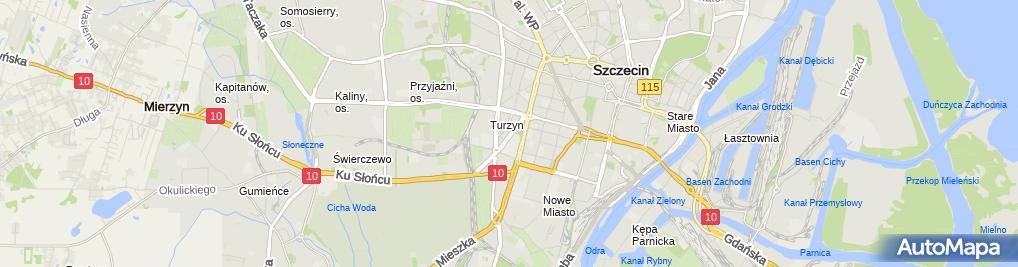 Zdjęcie satelitarne Kapek Maciej Kaplewski-Poczepko