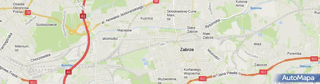 Zdjęcie satelitarne Karli Agnieszka Karwot