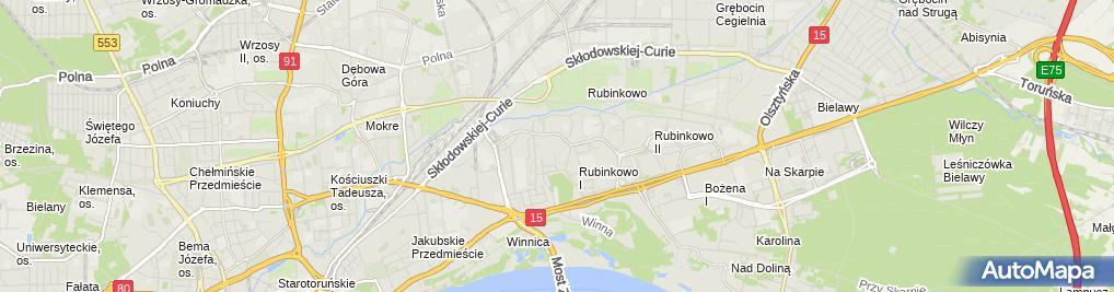 Zdjęcie satelitarne Karol Głowacki