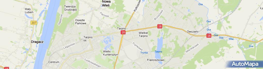 Zdjęcie satelitarne Karplay Dorota Supulak-Szymańska